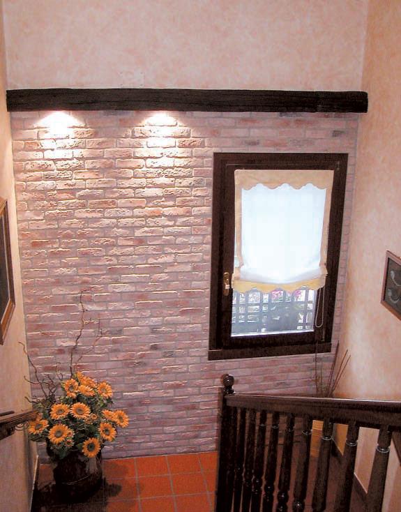 Mattoni faccia vista interni parete a faccia vista with - Mattoni per interni casa ...