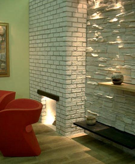 Mattoni in pietra per rivestimenti interni ed esterni for Mattoni finti per interni